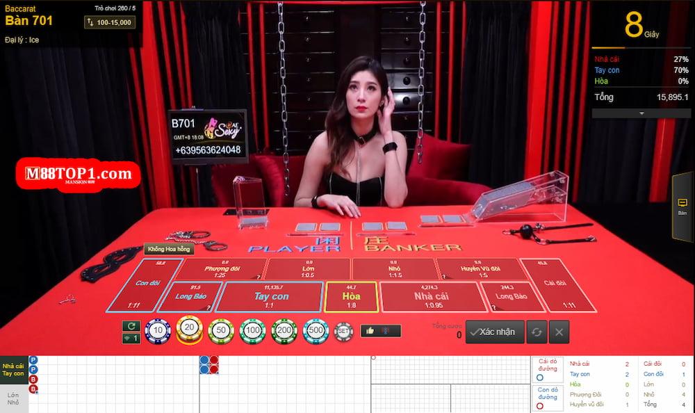 Casino độc quyền của M88