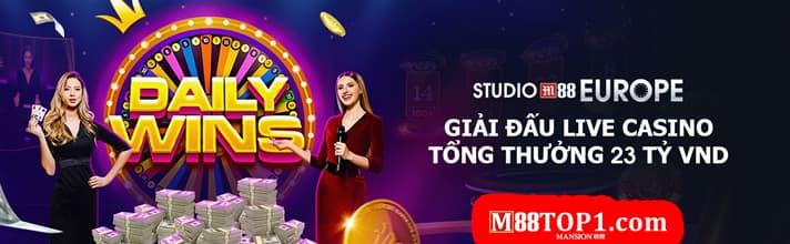 Live Casino giải đấu triệu đô