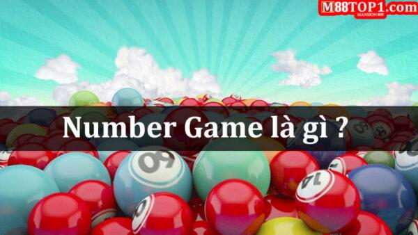 Giới thiệu chung về Number Game M88