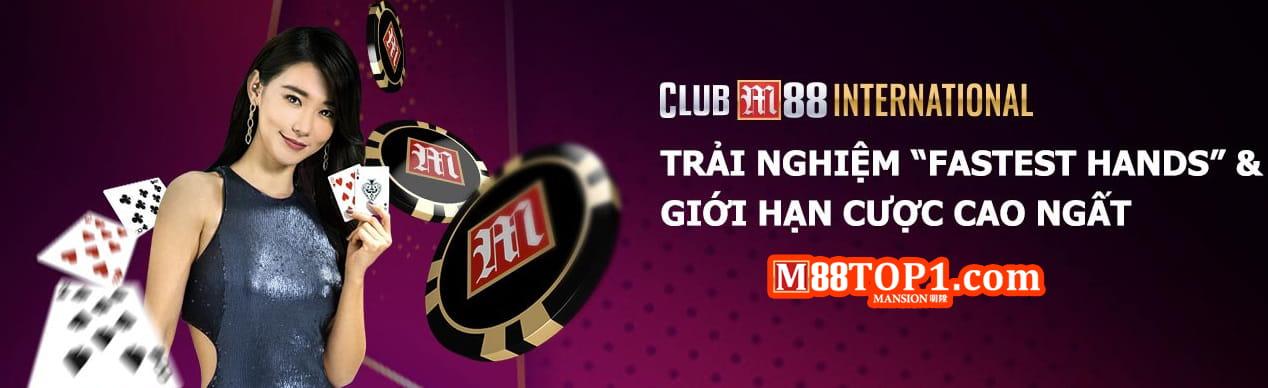Casino trực tuyến tại nhà cái uy tín M88