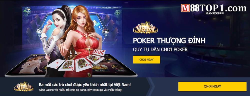 Đăng nhập nhà cái để tham gia game bài Poker